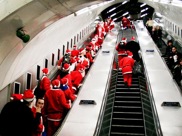 Работа в метро в новый год 2018