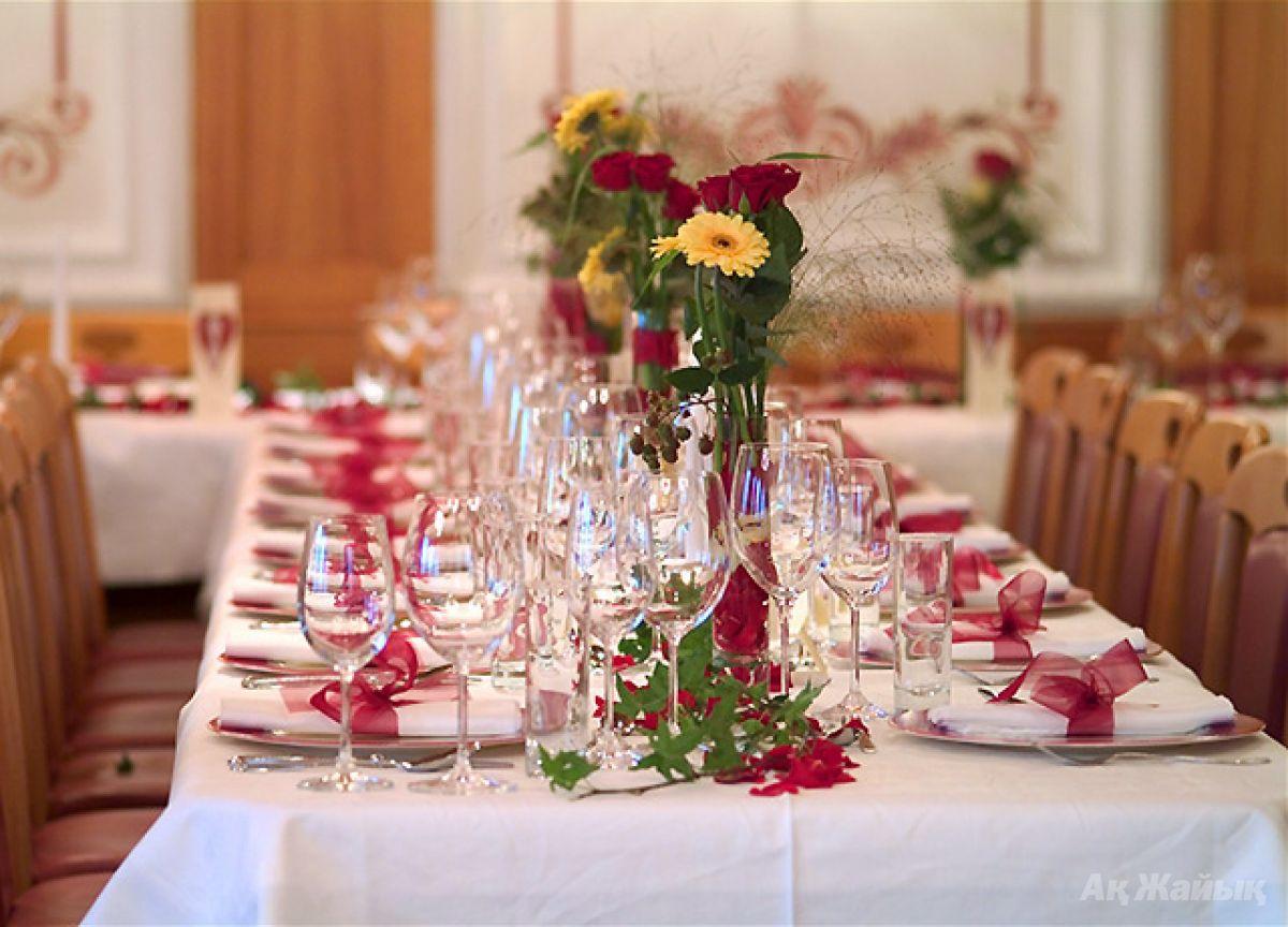 Как украсить стол на свадьбу фото в ресторане