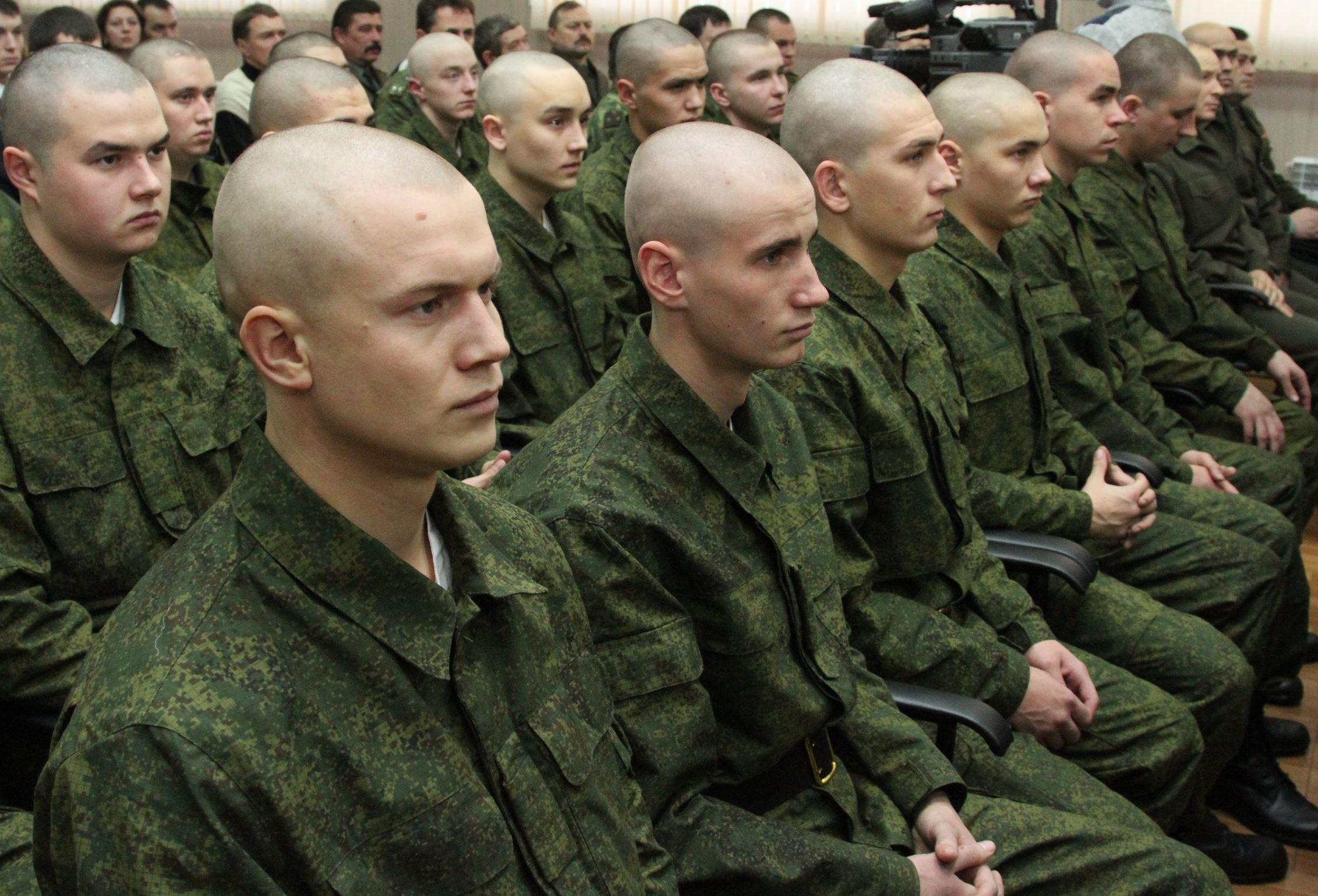 Образцы причесок военнослужащих по призыву